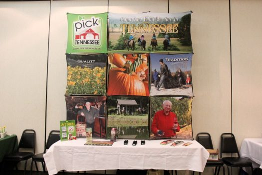 Pick Tennessee Products booth