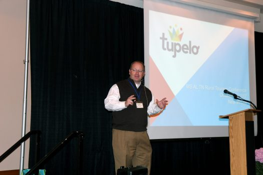 Neal McCoy, Executive Director Tupelo CVB, presenting session on how to create a tourism attraction.