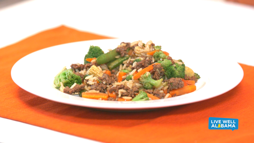 Live Well Recipe: Quick Stir Fry