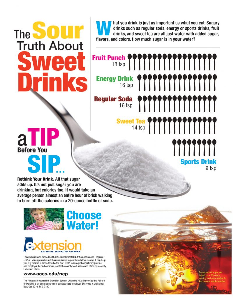 facts about sweet drinks